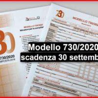 DICHIARAZIONE REDDITI ANNO 2020 – Mod. 730