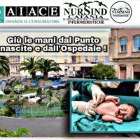 NurSind Catania: Sit-in di protesta davanti all'Ospedale di Bronte